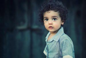Photo d'un enfant